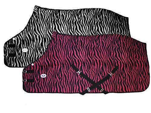 Derby Originals Horse Tack Zebra Print Fleece Sheet/Blanket for sale  Delivered anywhere in USA