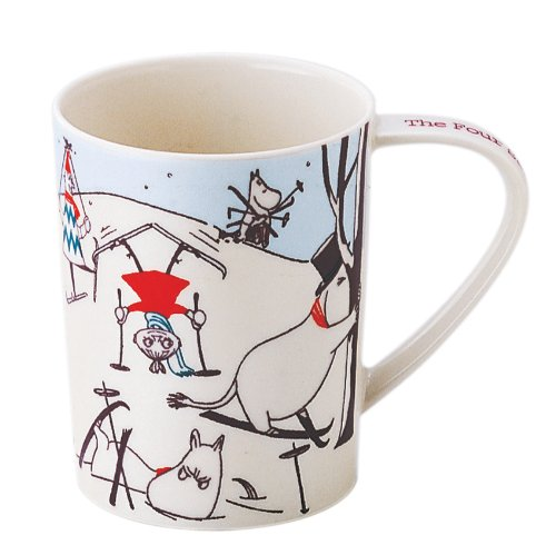 Moomin Four Seasons of Moominvalley Mug- Winter by Moomin