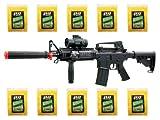 BBTac BT-M83 LPEG Full Auto Electric Power 250 FPS AEG Airsoft Gun with 50,000 .12g BBs 6mm Package