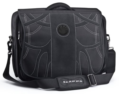 (SLAPPA KIKEN Matrix Checkpoint Friendly 18 inch Gaming /Travel Laptop Bag, tons of storage Ultimate)