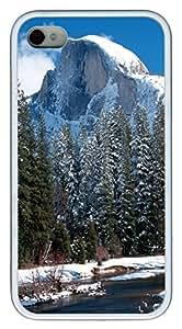 iPhone 4S CaseHalf Dome In Yosemite National Park California TPU Custom iPhone 4/4S Case Cover White
