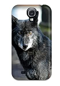 Hot Premium Wolf Back Cover Snap On Case For Galaxy S4 2148796K96885097