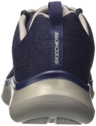 Quantum Running Scarpe Skechers Navy Blu Uomo Flex Gray Smyzer Ix66Sz
