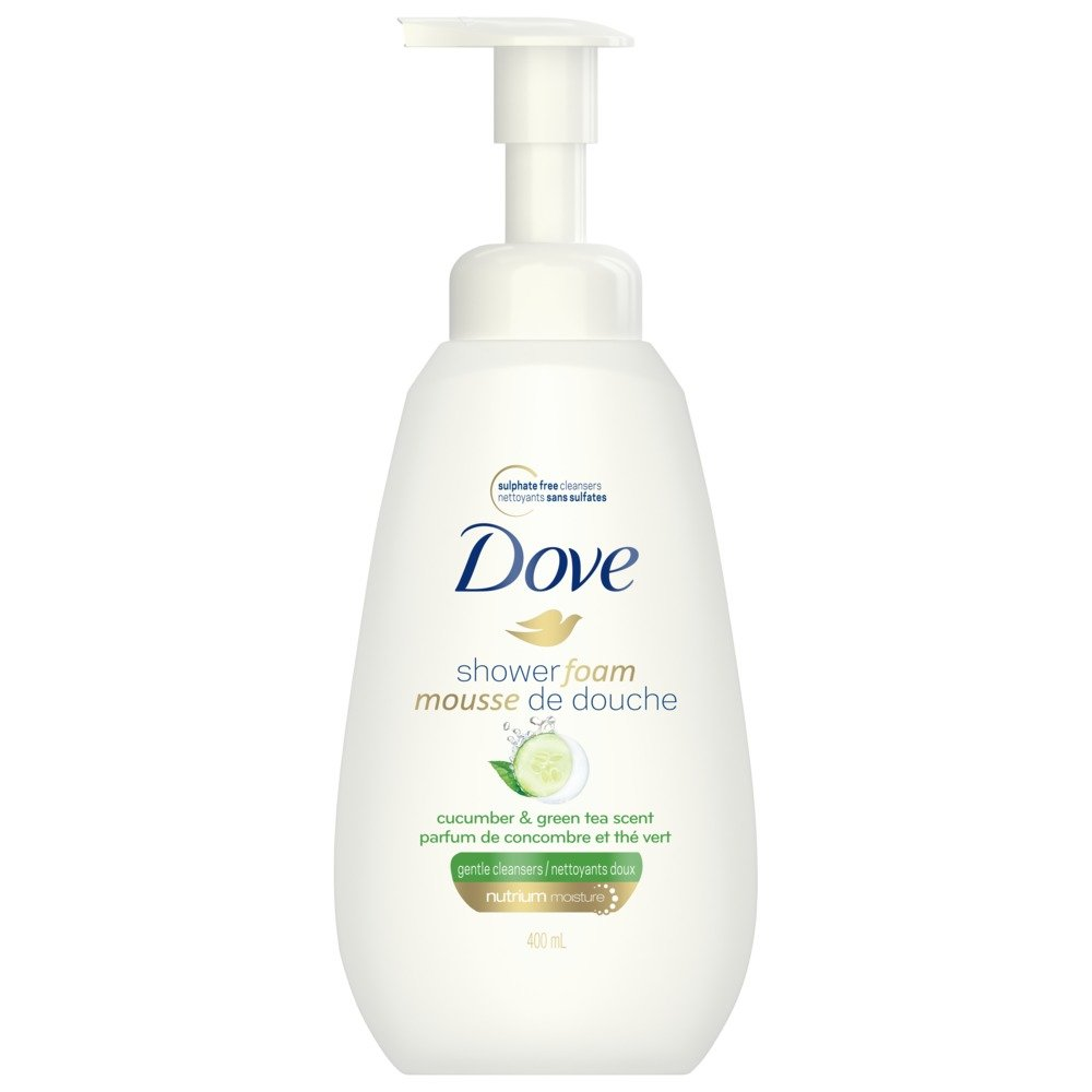 Dove Shower Foam Deep Moisture Foaming Body Wash 400 ML Unilever