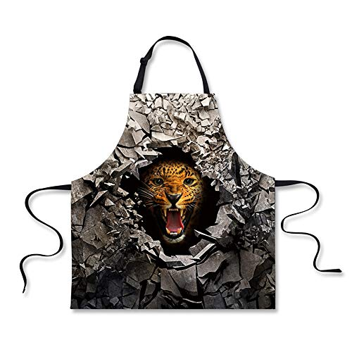 Hoijay Cooking Kitchen Aprons for Women Men Chef Broken Rock Florida Panther ()