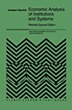 Economic Analysis of Institutions and Systems, Pejovich, S., 9401060304