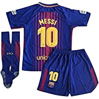 XIAOSHEN Brand 10# Messi Barcelona Home Kids Youth Soccer...