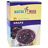 NutriWise – Protein Diet Fruit Drinks – Grape (7/box) Review