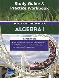 Amazon prentice hall math geometry study guide and practice study guide and practice workbook prentice hall mathematics algebra 1 fandeluxe Images