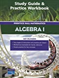 Prentice Hall Algebra 1 : Study Guide and Practice Workbook, PRENTICE HALL, 0131254502