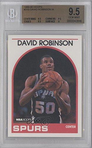 David Robinson BGS GRADED 9.5 (Basketball Card) 1989-90 NBA Hoops - [Base] #310