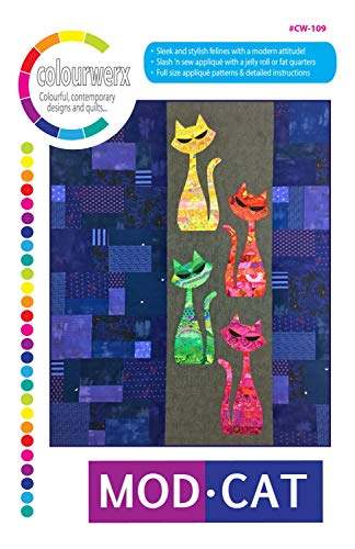 (Mod Cat Quilt Pattern by Linda & Carl Sullivan from Colourwerx CW-109)