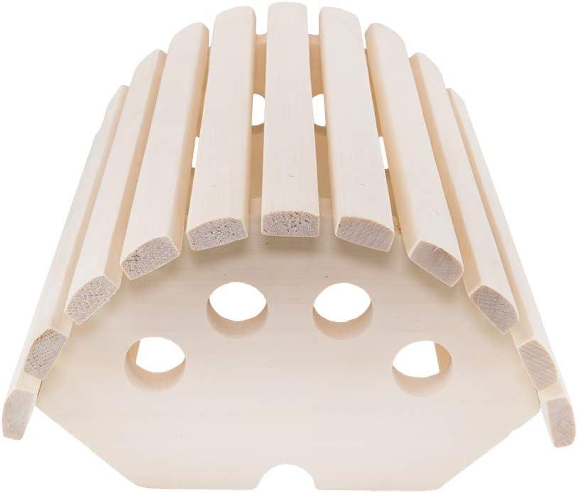 Kit di Illuminazione per Sauna Paralume Sawo 914-VD in Cedro con Lampada Sauna E27 IP54 e Cavo Siliconico 5m SiHF