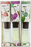 Greenair All Natural  Reed Diffuser Set of 3, Sweet Pea and Ginger, Jasmine Blossom, and Wild Honeysuckle, 2.2-Ounce Packages, Health Care Stuffs
