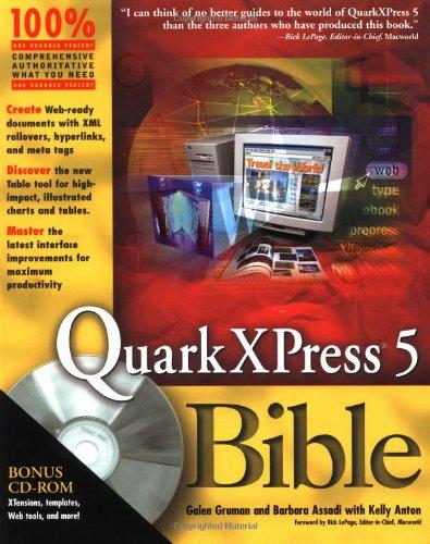 QuarkXPress? 5 Bible