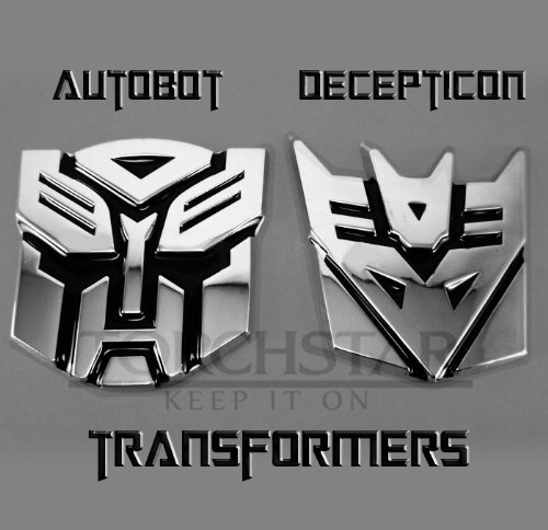 Amazon Edge Glowing Led Transformers Decepticons Car Emblem
