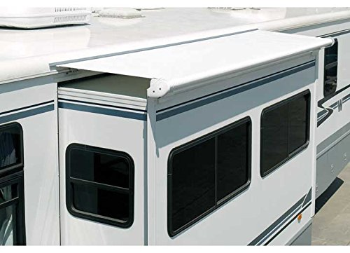 Carefree UP0850025 SideOut Kover III  White  85'' Slideout Awning by Carefree