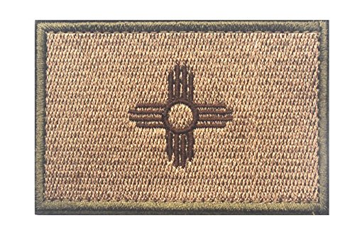 New Mexico STATE FLAG TACTICAL US ARMY USA MILITARY MORALE V