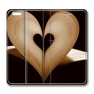 Brain114 6 Plus, iPhone 6 Plus Case, iPhone 6 Plus 5.5 Case, Paper Love PU Leather Flip Protective Skin Case for Apple iPhone 6 Plus 5.5