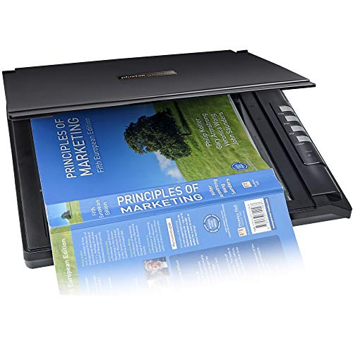 Plustek OpticSilm 2680h – High Speed Flatbed Scanner, 3sec Fast scan Speeds. Compact Design for Home and Home Office. Support Windows and Twain
