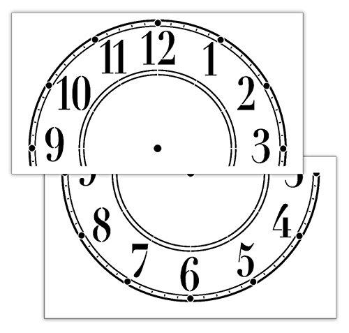 Schulhaus Uhr Uhr Uhr Schablone – stcl414–61 cm Uhr B077G9NRY5 | Trendy  92dab1