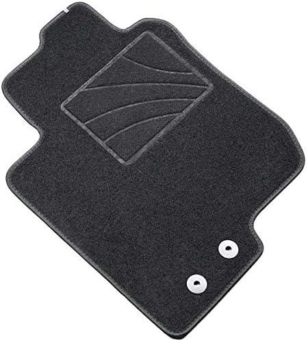 sur Mesure en Velours Noir MTM Tapis de Sol Clio V 2019 One fr8558 cod