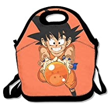 NaDeShop Dragon Ball Z Son Goku Lunch Bag Tote