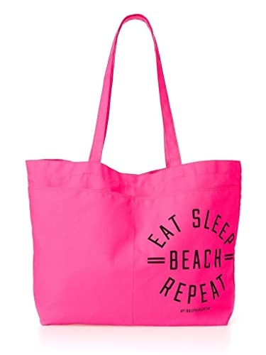Amazon.com: Victoria's Secret PINK! Beach Tote HOT PINK: Shoes