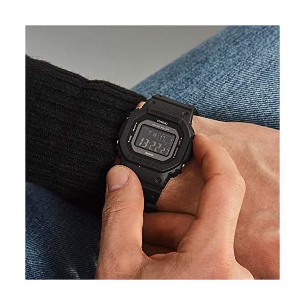 Casio Reloj Digital para Hombre de Cuarzo con Correa en Resina GW-B5600BC-1BER 6