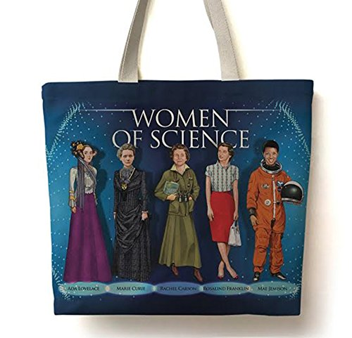 Famous Scientist Tote Bag