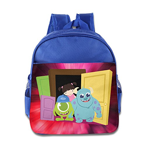 Monsters Inc Custom Unisex Kid School Bag Comfortable (Googly Bear Monsters Inc)