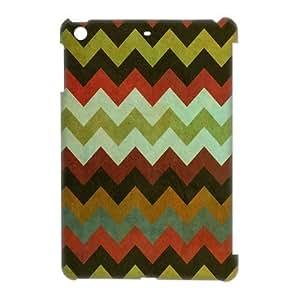 Godstore Custom New Style Colorful Chevron Pattern Cover Hard Plastic iPhone 5 Case