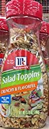 McCormick SALAD TOPPINS - CRUNCHY & FLAVORFUL 3.75oz (5 Pack)