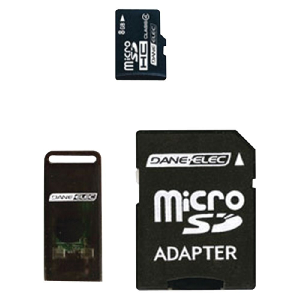 Dane - Elec da-3in1 – 08 g-r 8 GB MicroSDカードカメラアクセサリー   B01AIQ9BS2