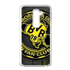 New fashion Case Borussia Dortmund 09 FC logo LG G2 para DIY