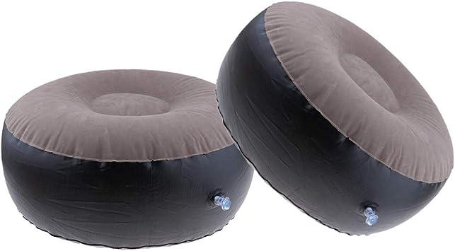 Amazon.com: Toygogo - Taburete hinchable para interior y ...