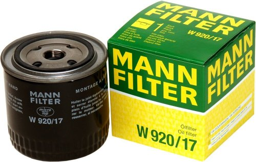 (Mann-Filter W 920/17 Spin-on Oil Filter)