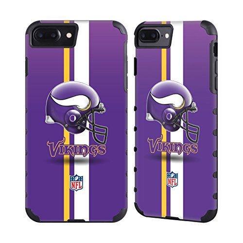 - Official NFL Helmet Minnesota Vikings Logo Gold Gripper Case for Apple iPhone 7 Plus / iPhone 8 Plus