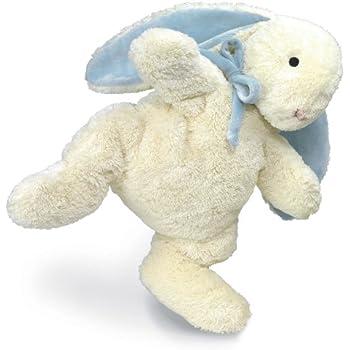 """North American Bear Loppy Bunny Plush Toy, Blue, 16"""""""