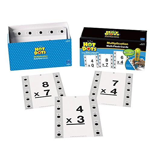 Educational Insights Flash Cards Multiplication