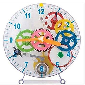 Hacer Tu Propio Reloj engranajes Niños Juguete Educativo \ Arts de papel para