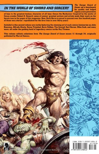The Savage Sword of Conan, Vol. 2 (v. 2)