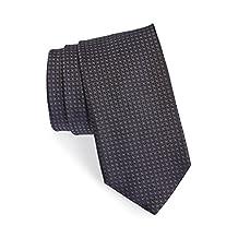 Boss Hugo Boss Woven Italian Silk Tie, Grey/navy 50310566