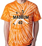"The Silo TIE DIE ORANGE Madison Bumgarner ""MAD BUM PIC"" T-Shirt"