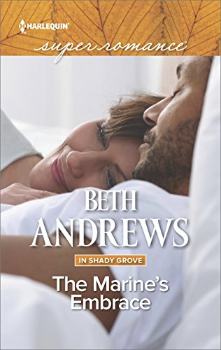 book cover of The Marine\'s Embrace