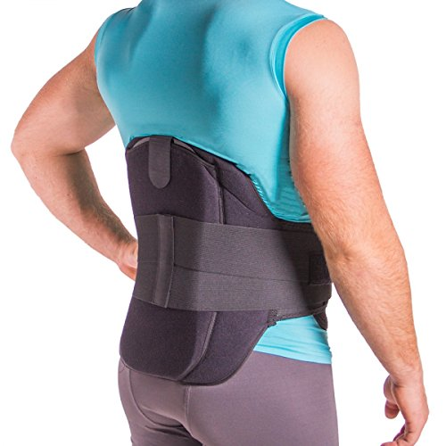 Back Brace for Herniated Disc Treatment, Degenerative Disc Pain, Bulging, Ruptured and Slipped Spinal Discs-L by BraceAbility