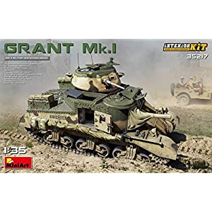 MINIART-35217-135-Scale-Model-Grant-MkI-Interior-KIT