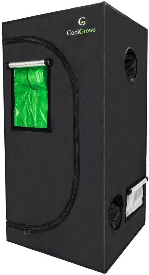 CoolGrows 2x4 Grow Tent - Best For Blocking Light Leak