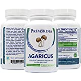 Agaricus Brazil Mushroom | Agaricus blazei murill | Stress Relief & Fights Inflammation | Natural Adaptogen | 60ct. Vegetarian Capsules