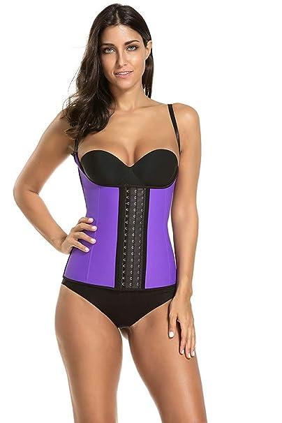 7a5c5b6897 Uniqus Waist Trainer Shapewear TOT Shapers Belt Body Shaper Corset  Underwear Women Fitness Modeling Strap Belt